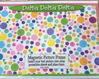 Delta Delta Delta Magnetic Picture Frame
