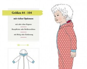 Klimperklein pattern stuffed suit