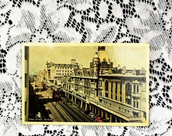 1943 Vintage Postcard/Vintage West Street Durban South Africa UK Postcard/Vintage photograph/vintage europe postcard/paper ephemera/vintage