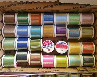 LoT 28 Thread _125 yd spls_