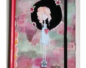 Altered Journal - Notebook - Girls Journal
