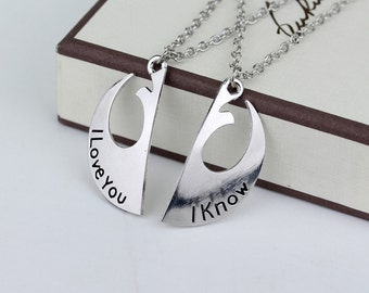 Star Wars Couples Necklace