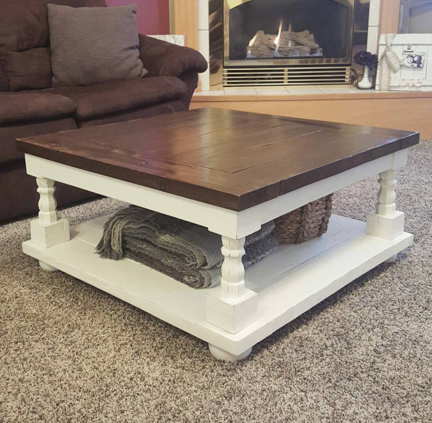 Local Pickup ly Square Coffee Table Cottage Coffee Table
