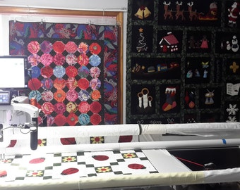 LONGARM QUILTING - Custom and Edge to Edge