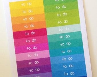 Planner Stickers - Header Stickers To Do