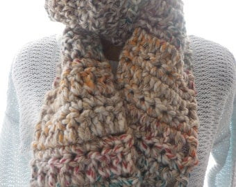 Multi-color cozy scarf