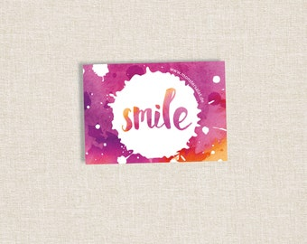 "Sticker ""Smile"" 
