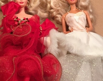 Christmas Barbies