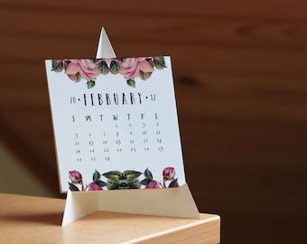 2017 Calendar, Desk Calendar, 2017 Desk Calendar, Download Calendar, Printable Calendar, Monthly Calendar, PDF Calendar, Calendar 2017, 2017