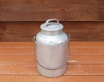 Aluminum Cream Jug, Viko Milk Can, Aluminum Pail, Lunch Can, Billy Can, Soup Canteen