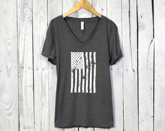 American Flag Shirt | America Shirt, USA Shirt, Merica Shirt, 4th of July Shirt, July 4th Shirt