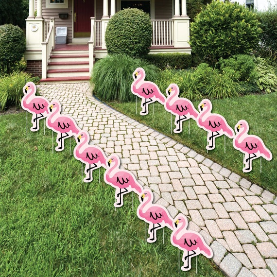 Flamingo Pink Flamingo Lawn Decorations Outdoor Yard