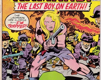 Kamandi The Last Boy On Earth #27, March 1975 Issue - DC Comics - Grade G/VG