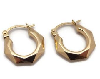 Creole Earrings, Creole Hoop Earrings, Womens Creole Hoops, Gold Hoop Earrings, Hoop Earrings Women, Womens Gold Earrings, Gold Hoops Women