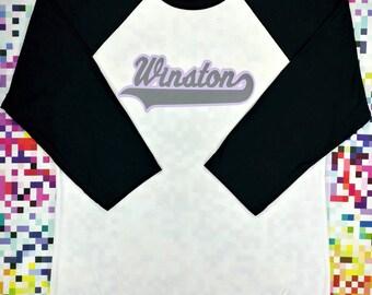 Winston Baseball Tee