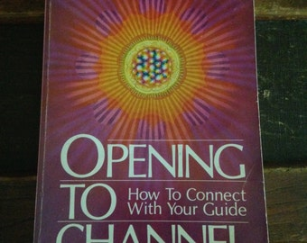 Opening to Channel First Edition Paperback 1987