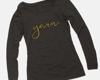 SALE - Pittsburgh Yarn Crochet Shirt