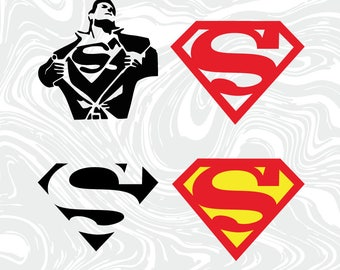 Superman SVG and DXF Files