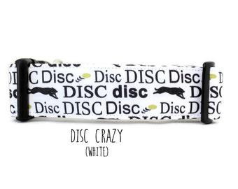 Dog Collar, Boy Dog Collar, Girl Dog Collar, Disc Dog Collar, Sport Dog Collar, Frisbee Dog Collar (Upgrade to Metal Buckle or Martingale)