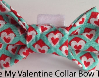 Be My Valentine Bow Tie for Dog or Cat
