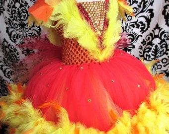 firebird dressphoenix costumephoenix dressfirebird costumecouture pageant dress - Halloween Costumes In Phoenix