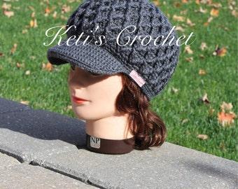 Newsboy hat,Visor hat,Woman Newsboy Hat,Womens Visor hat,Womens Newsboy Hat,Woman Crochet Cap,Crochet Newsboy Hat,Woman Crochet Visor Hat