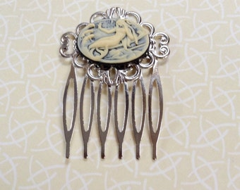 Comb Mermaid Silver Comb