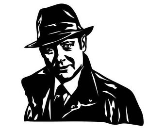 "The Blacklist, Raymond ""Red"" Reddington Vinyl Decal Sticker Window Wall Bumper Laptop NBC TV Television Show Character Actor James Spader"