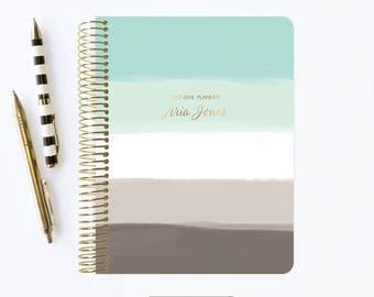 2017 - 2018 Planner | 2017 | Student Planner | Professional Planner | Agenda | Notebook | Ombre Planner | 2017 Calendar | 2018 Planner