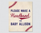 Baseball Baby Shower Head...