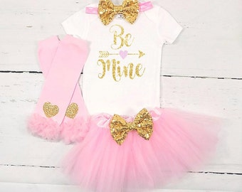 girls valentines outfit girls valentines day outfit girls be mine outfit be mine outfit be mine shirt pink and gold valentines outfit