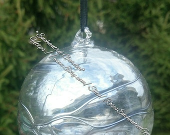 Glass Fairy Orb/Witch ball