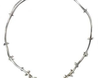 White Wisteria Necklace