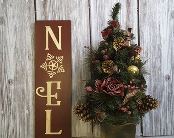 Noel Sign, Noel Christmas Sign, Holiday Sign