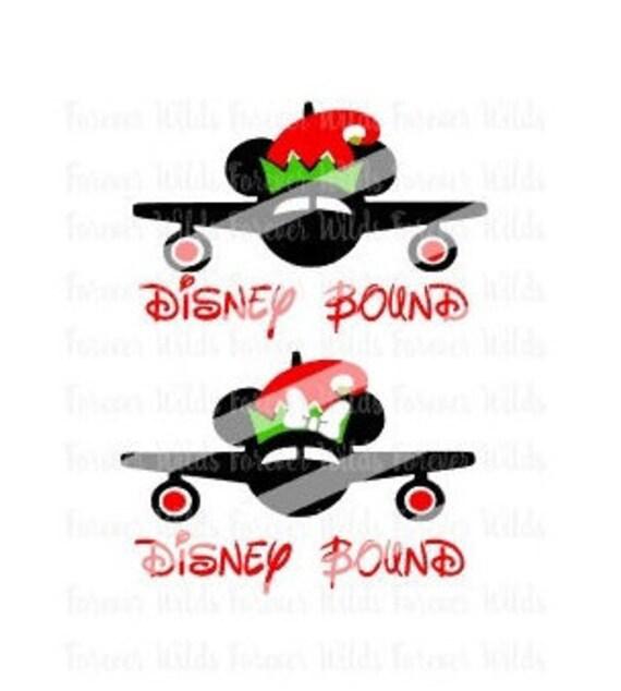 Christmas Elf Disney Bound Svg SVG Cutting Files DFX