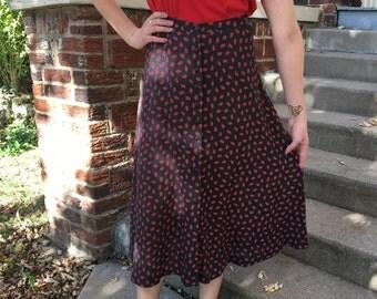 Vintage Rena Rowan Brand Skirt
