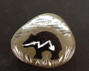 stone totem animal - ref: bear 1