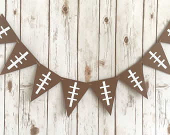 Football Sign / Tailgate Banner / Sports Theme Birthday / Man Cave