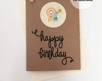 9th Birthday Card – 9th Happy Birthday Card – Age 9 Happy Birthday Card – Ninth Happy Birthday Card – Happy 9th Birthday Card