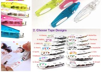 Plus Deco Rush: Decoration Tape Pen + Refills 6mm x 6m