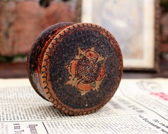 Mini Box - Rustic Box - Wooden Ring Box - Distressed Vintage Box - Gift Box - Small Jewelry Box - Wood Keepsake Box - Trinkets Box