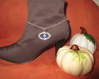 Boot Jewelry Danglet- Evil Eye Bling