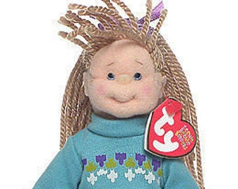 Ty Beanie Babies, Beanie Boppers, Cool Cassidy, Dolls, Girl Doll, Blonde Doll, White Doll, Toys, Kawaii, Stuffed Dolls, Cloth Doll, KidToys