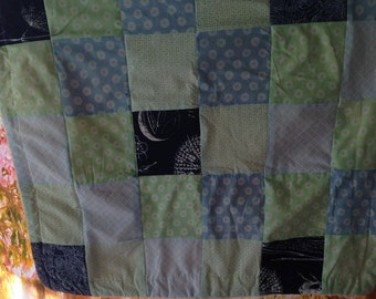 Baby blanket, baby blanket in the Patchworkstyle