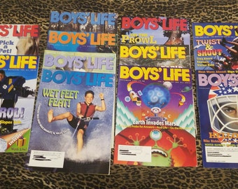 Lot of 21 Boys' Life Magazines from 1997-1999 ** subscription copies of the publication for the Boy Scouts of America ** FREE SHIPPING