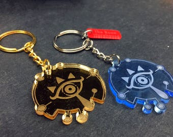 Breath of the Wild Sheikah Symbol Keychain, The Legend of Zelda (laser-cut acrylic)