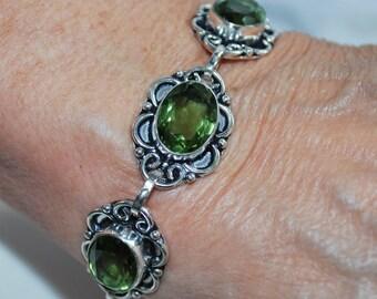 Green Quartz Bracelet!