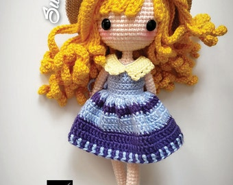 Crochet Doll Pattern - Sunni 珊倪