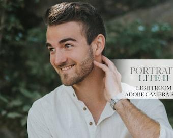 Portrait Lite II - Single Preset - ACR and Adobe Lightroom Preset for 4, 5, 6 and CC
