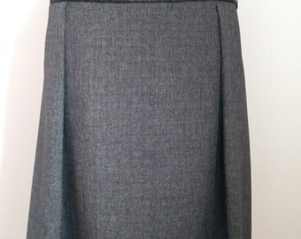 Dark grey skirt